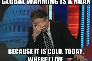 Global Cooling or Heating? Man-Made Climate Change is A Reality But So What?